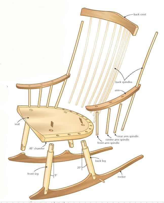 rocking chair illo