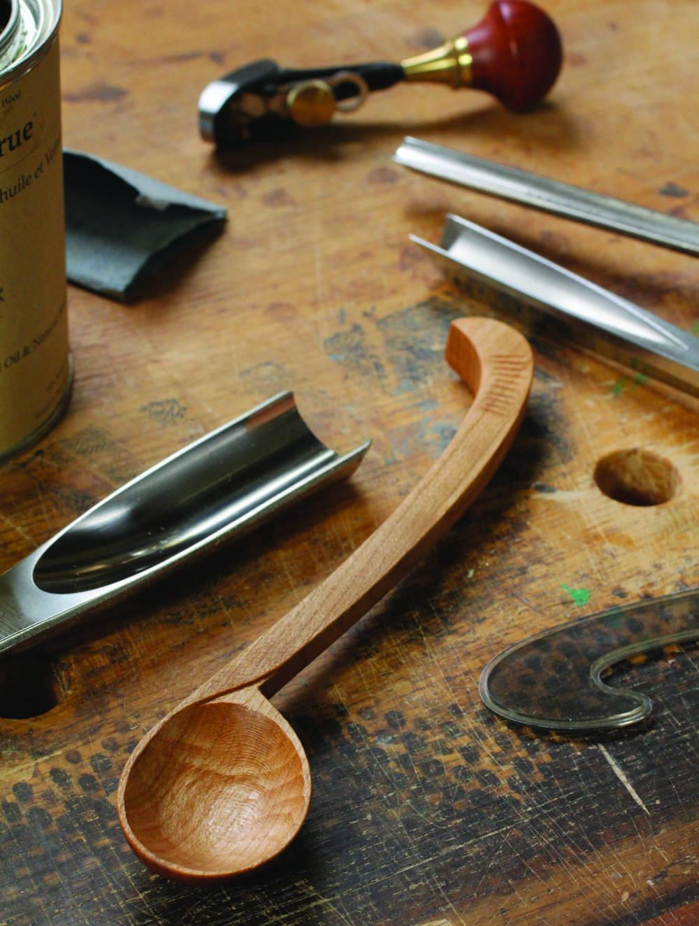 Carve a Curvy Spoon