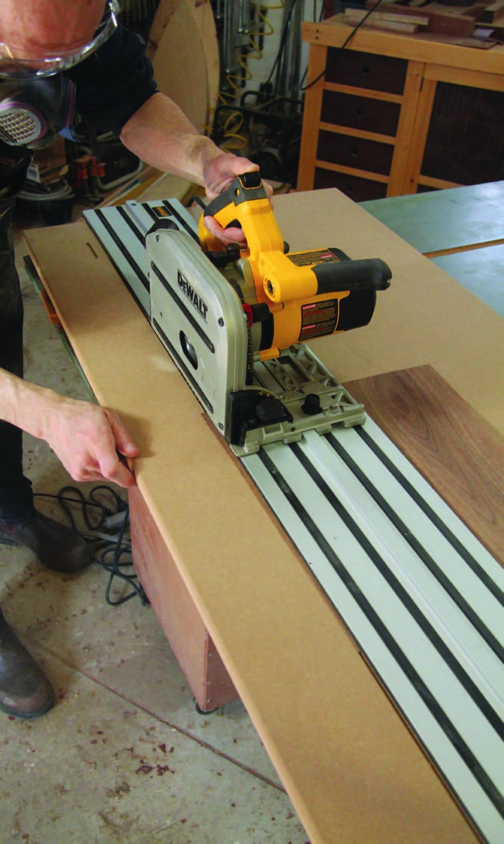 veneer cutting jig