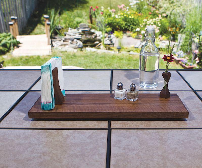 Make A Veneered Tabletop Tray