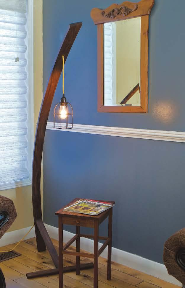 Build a Curved Floor Lamp