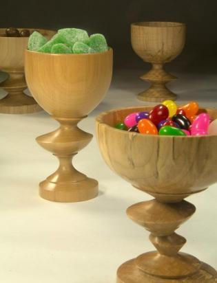 Eccentric Pedestal Bowl