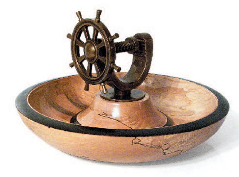 Shipswheel Nutcracker