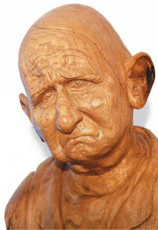 carving wood grain
