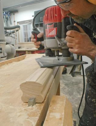 Mill-it-Yourself Handrail