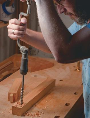 Hand Cut Mortise and Tenon