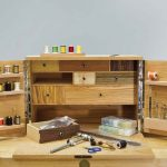 fly-tying chest
