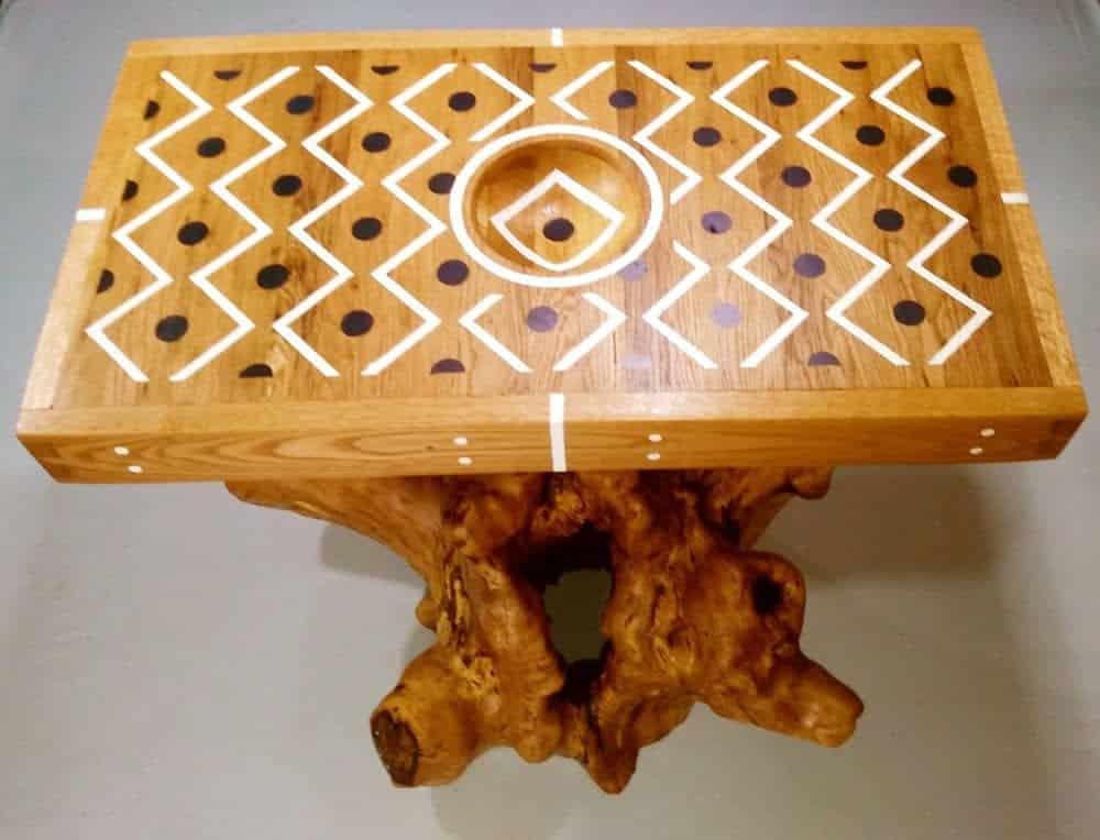 Coffee bowl table