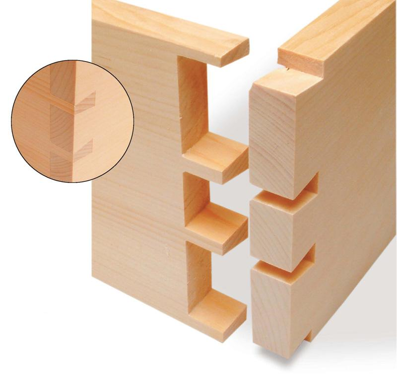 wood joinery dovetails
