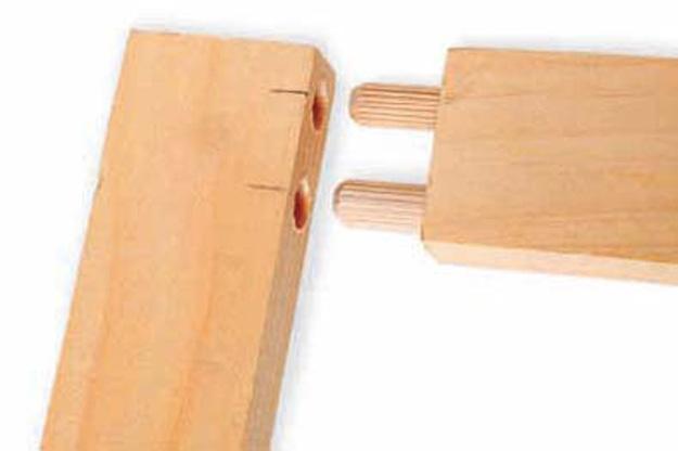 wood joinery dowels