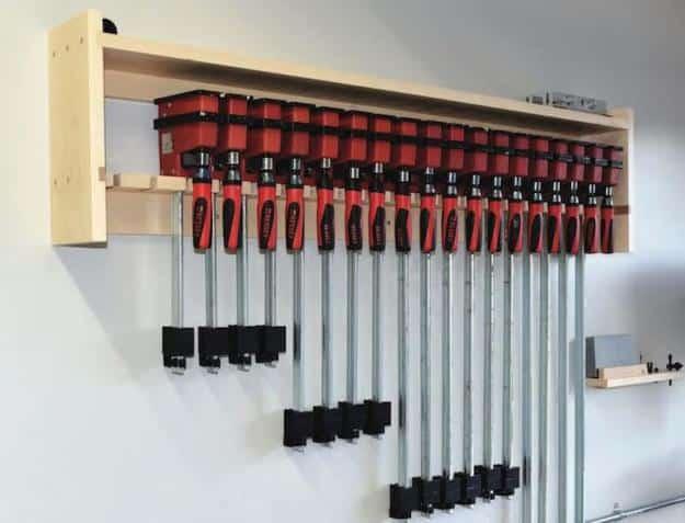 Build a clamp rack