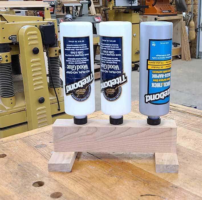 glue bottle stand