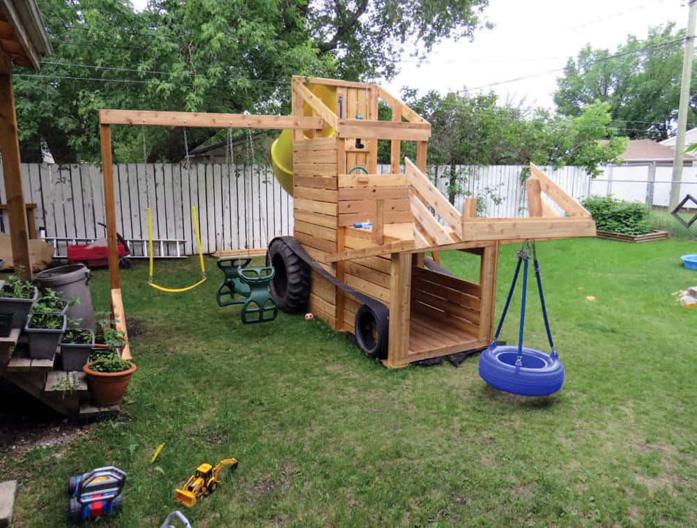 Backyard Play Structure
