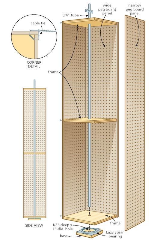 storage rack illustration