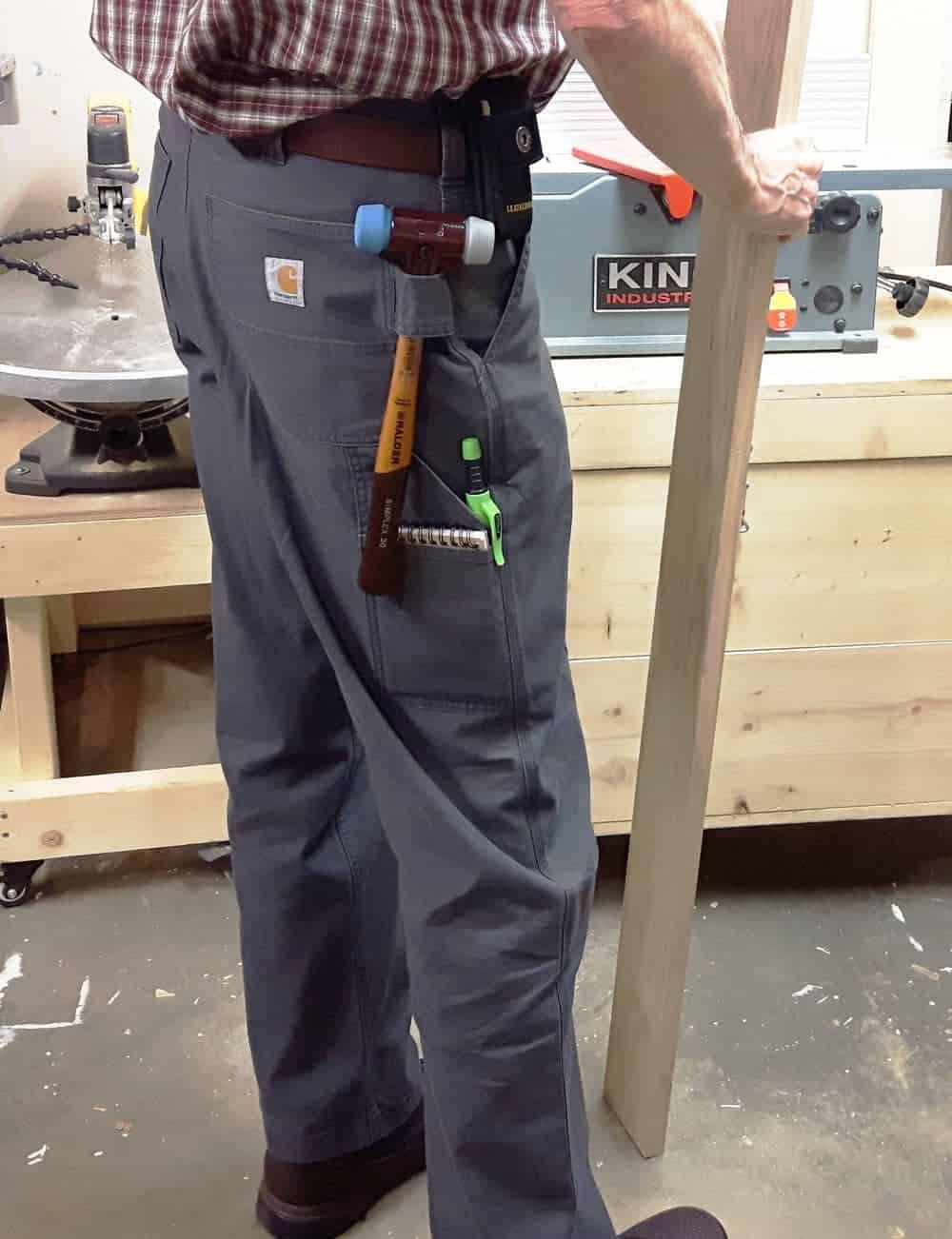 Carhartt rugged flex loose fit canvas work pant