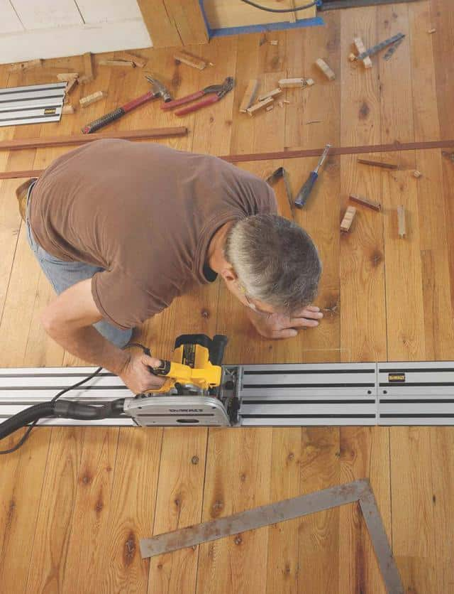 Take the plunge into the world of track saws