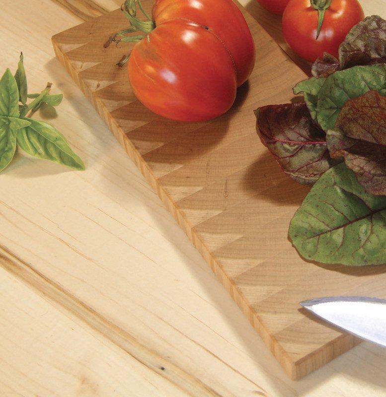 Super-simple end grain cutting board