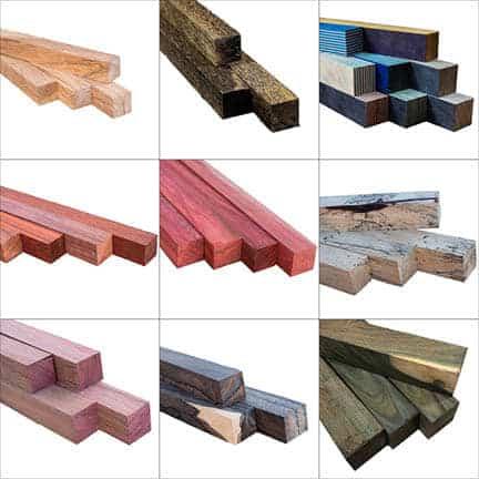 exotic wood blanks