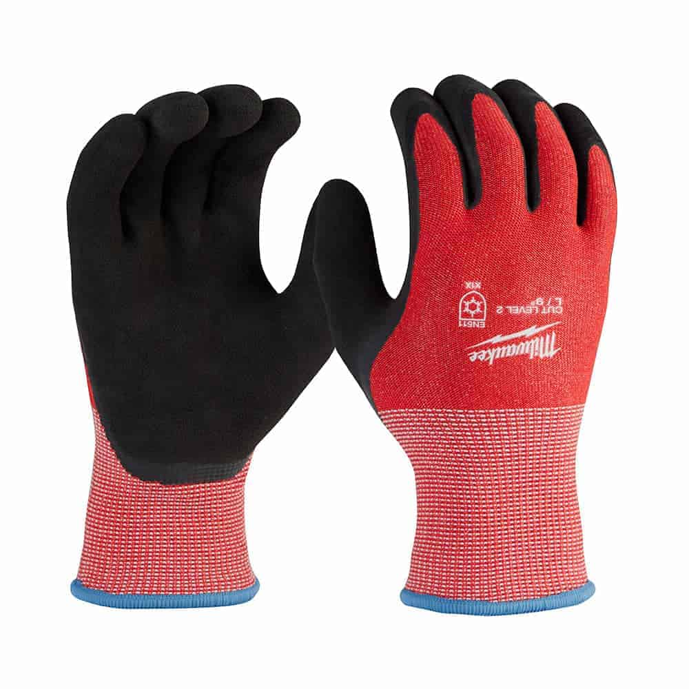Milwaukee rounds out lineup of winter dipped, polyurethane, and nitrile gloves