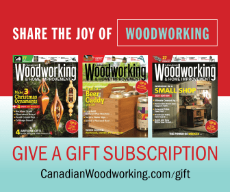 Canadian Woodworking gift
